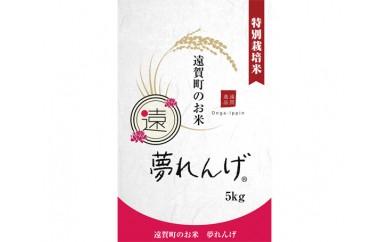 No.013 特別栽培米 夢れんげ 5kg