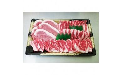 国産 笑子豚(えこぶー)セット 1.1kg【1021925】