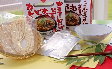[№5707-0095]麺に合うカレーが出来ました!国民的人気のカレーうどんセット