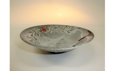 DMN04 銀環長石釉茶碗―シキサイ―
