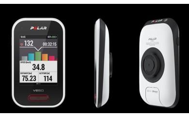 715 自転車でまちを活性化!GPS内蔵サイクルコンピューター!POLAR(ポラール)V650 HR &スピード・ケイデンスセンサー セット