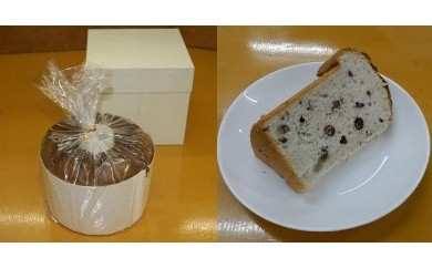 「和菓子工房 松栄堂」が作る、和菓子屋のシフォンケーキ(小豆)