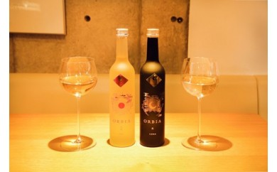 B29-235 洋食に合う日本酒「ORBIA  SOL & LUNA 」