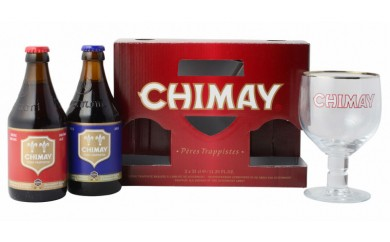 C3701 「シメイ トラピストビール」クラシックセット(ビール2本+専用グラス)