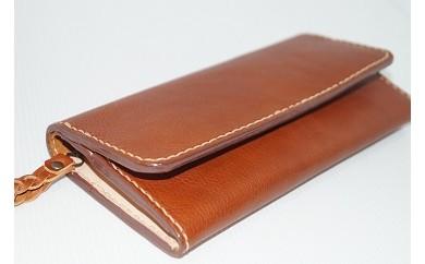 D-5 本革製長財布(レディース向け)