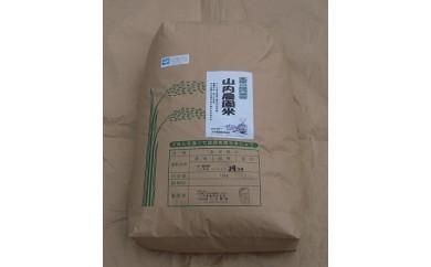 29D-093 エコ50特別栽培米 山内農園米 15kg【10,000pt】