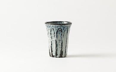 唐津焼/田中良幸/斑唐津のフリーカップ