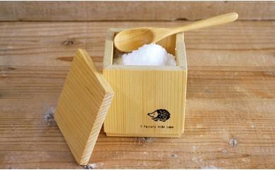青森ヒバの箱(調湿する、調味料入れ)