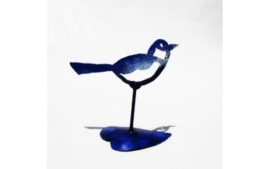 【A056】かわいい!小さなアート(鳥)鉄製
