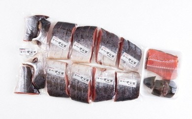 C106 塩引鮭1尾(切身スライス)