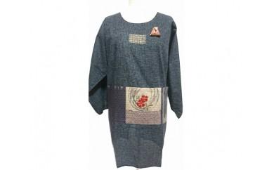 No.123 ファッション割烹着(カンガルーポケット、赤・黒・茶)