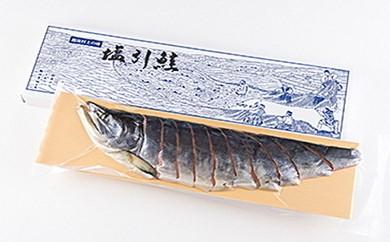 B110 塩引鮭半身姿造り