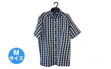 [№5786-1563]武櫬衣インディゴシャツ(半袖) M