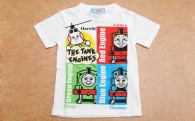 [№5849-0073]きかんしゃトーマス 半袖Tシャツ  110cm