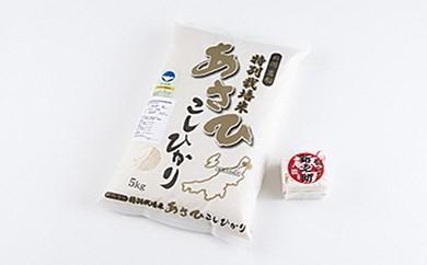 A122 特別栽培米コシヒカリ5kgおまけ付き