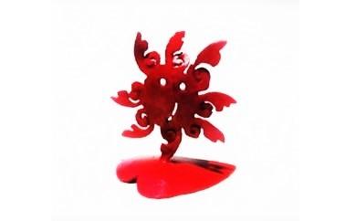 【A057】かわいい!小さなアート(太陽)鉄製
