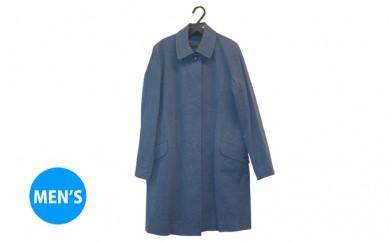 [№5786-1624]武櫬衣スプリングコート 男性用 紺 フリーサイズ