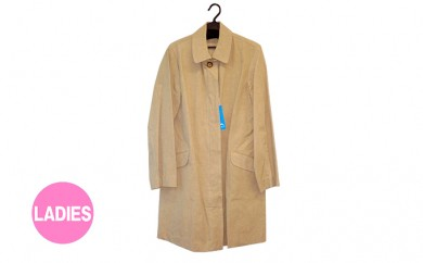 [№5786-1627]武櫬衣スプリングコート 女性用 ベージュ フリーサイズ