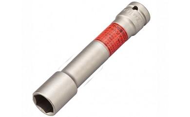 No.074 【TONE 工具】インパクト用ロングホイルナットソケット(差込角12.7mm、二面幅19mm)