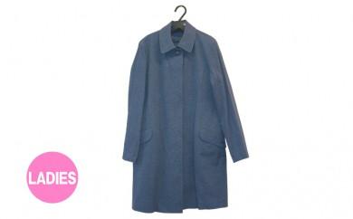[№5786-1625]武櫬衣スプリングコート 女性用 紺 フリーサイズ