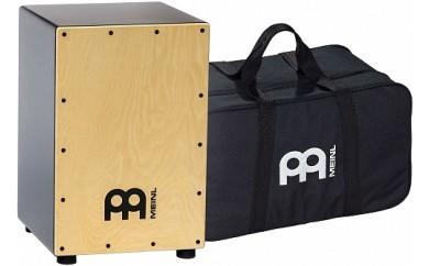 (742)MEINL Percussion マイネル カホン MCAJ100BK-MA+ 純正ギグバッグ付き
