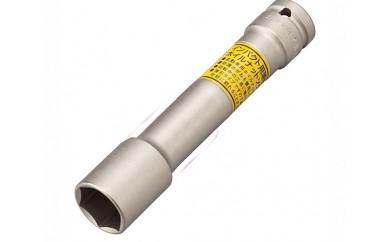 No.075 【TONE 工具】インパクト用ロングホイルナットソケット(差込角12.7mm、二面幅21mm)