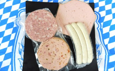[№5845-1211]バイエリッシャーホーフ ドイツの朝食セット