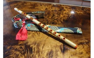 神渕神社例大祭で使用する篠笛(クリアー)