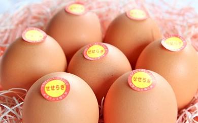 """[№5845-1213]兵庫県丹波市「村上さん家」の""""せせらぎ卵"""" 30個"""