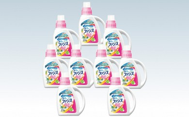 [№5855-0056]N ファンスリキッド衣料用洗剤本体(900g)×9個