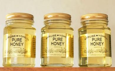 [№5749-0197]北海道産アカシア蜂蜜200g×3本セット