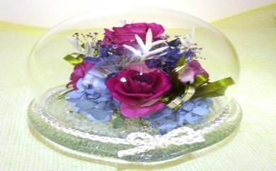 [№5905-0057]バラのフラワードーム1個