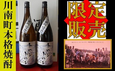 18-07【数量限定】トロントロン焼酎25度