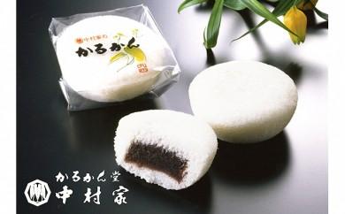 [№5893-0139]【かるかん堂 中村家】かるかん饅頭10個入
