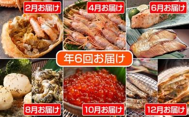 [№4630-0426]スペシャル海鮮詰合せ! 年6回お届けコース