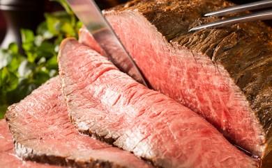 [№4630-0364]牛肉花子のローストビーフ約300g