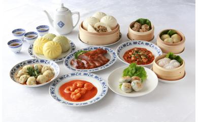 重慶飯店 飲茶料理セット11種