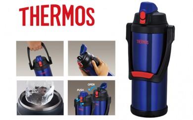 [№5809-1822]サーモス 水筒 2.5L 真空断熱 スポーツジャグ FFO-2501 ダークブルー