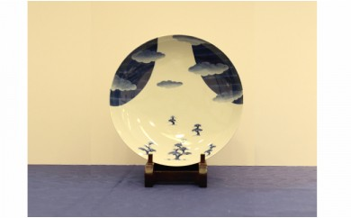 A300-12 伝統工芸士 橋口博之作(しん窯) 富士山深皿