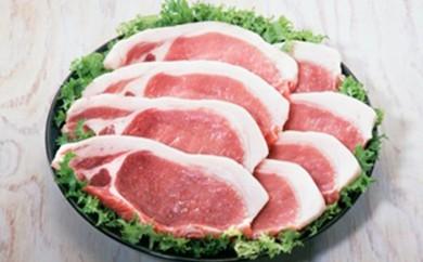 [№5532-0020]★熊本県産 りんどうポーク★とんかつ用豚ロース 2kg 肉のさかえ屋