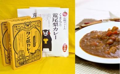 [№5532-0005]カレー好きに!あらお梨カレー・タン坑カレー 10食