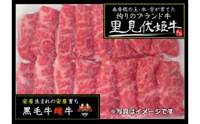 【A71】南房総の土・水・空が育てた「里見伏姫牛」(焼肉用)