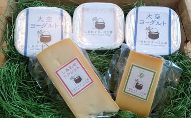 [№5642-0157]ジャパンチーズアワード金賞「幸」のチーズとヨーグルトセット