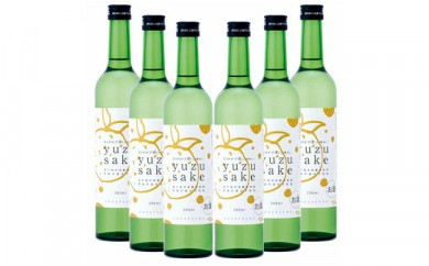 OK-23yuzu sake(ゆず酒)500ml×6本
