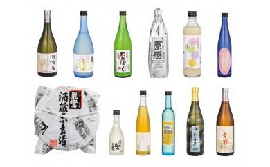 H124 平戸地酒と平戸焼酒器セット【55,000pt】
