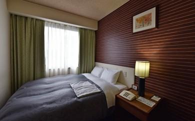 [№5636-0179]「ホテルサン人吉」1泊朝付 ダブルルーム 2名様宿泊券