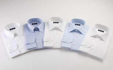 [№5636-0197]HITOYOSHIシャツ(5枚セット) 紳士用