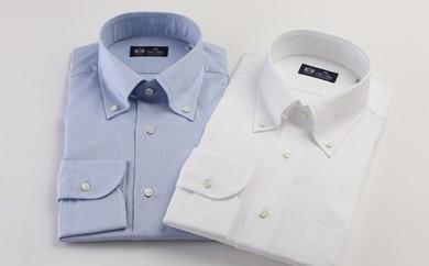 [№5636-0196]HITOYOSHIシャツ(オックスフォード2枚セット) 紳士用