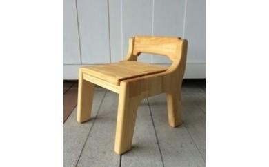 【E004】【手作り家具コロール】はじめての椅子(パイン)