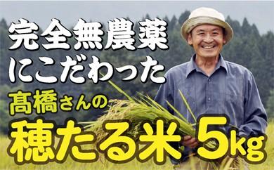 014-002 特別栽培米 穂たる米セット 5kg